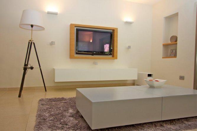 סלון בבית ברעננה בעיצוב ניצן הורוביץ