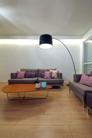 סלון בעיצובו של ניצן הורוביץ