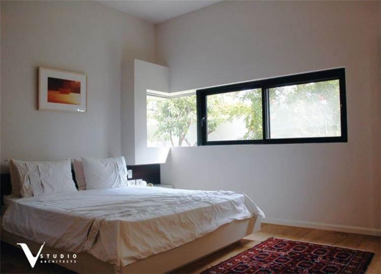 חדר שינה בתכנון גיא וליקסון ודודי עזוז