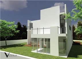 חזית בית בתכנון גיא וליקסון ודודי עזוז