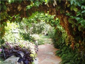 עיצוב כניסה  בגן פורח ומלבלב- תמי שטרסברג