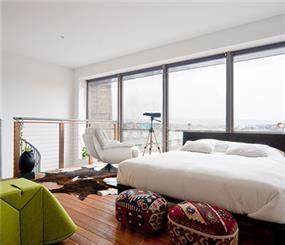 חדר שינה בעיצוב תמי שטרסברג