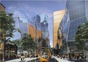 אילן פיבקו אדריכלים- פרויקט מסחרי במזרח אירופה