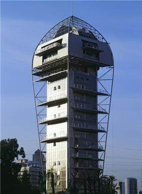 אילן פיבקו אדריכלים - מגדל הגן ברמת גן, צילום: יעל פינקוס