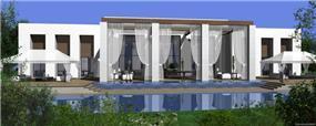אילן פיבקו אדריכלים -   הצעה לבית בכפר שמריהו - יום