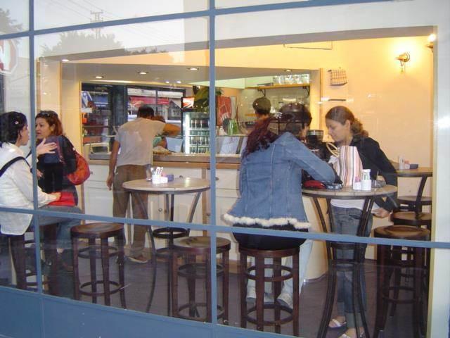 בית קפה בתל אביב