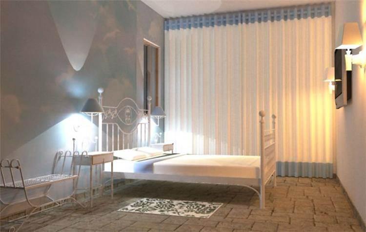 חדר שינה במלון בוטיק