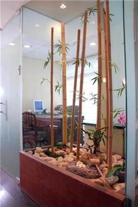 גן יפני בתיבת עץ- משרדי חברה ליעוץ פיננסי