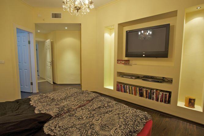 חדר שינה בעיצוב וילצ'יק עיצוב פנים