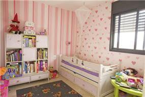 חדר ילדים בעיצוב וילצ'יק עיצוב פנים