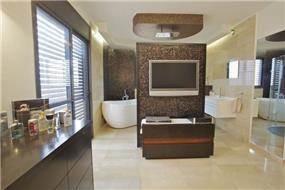 חדר אמבטיה בעיצוב וילצ'יק עיצוב פנים