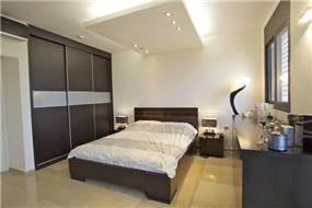 חדר שינה בעיצוב וילציק עיצוב פנים