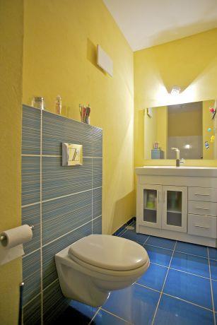 חדר שירותים בעיצוב וילצ'יק עיצוב פנים