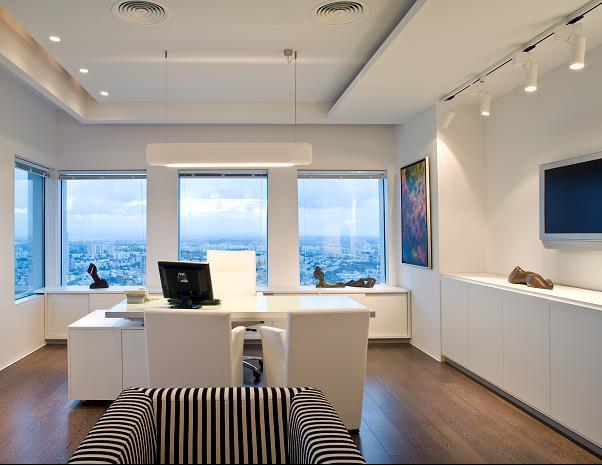 משרד בתכנון ועיצוב נורית לשם, (צילום: עמית גירון)