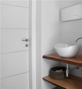 חדר אמבטיה מעוצב, נורית אמויאל - מעצבת פנים