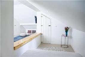 חדר ילדים בעלית גג, נורית אמויאל - מעצבת פנים