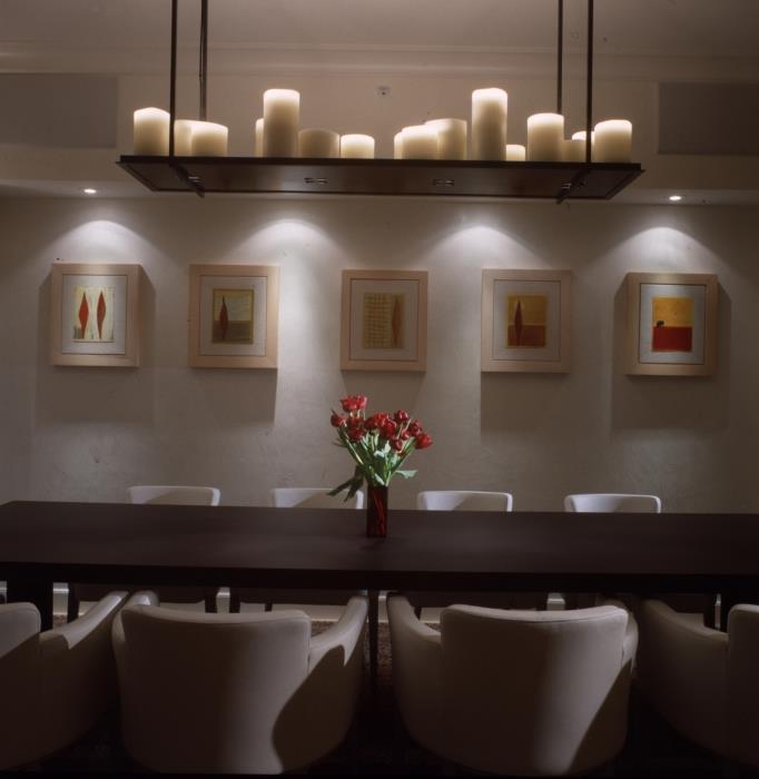 פינת אוכל בתכנון אדריכל יוסי פרידמן, צילום: יונתן רושליין