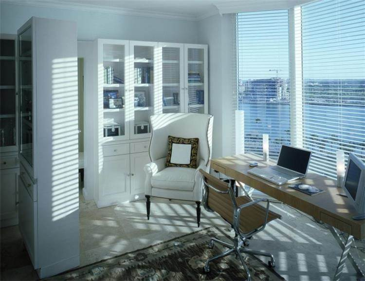 חדר עבודה בתכנון אדריכל יוסי פרידמן, צילום: יונתן רושליין