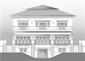 חזית בית בתכנון אדריכל יוסי פרידמן, צילום: יונתן רושליין
