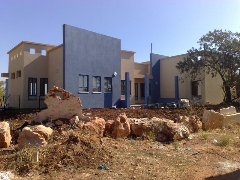 בית חדש בהרחבה ביפתח
