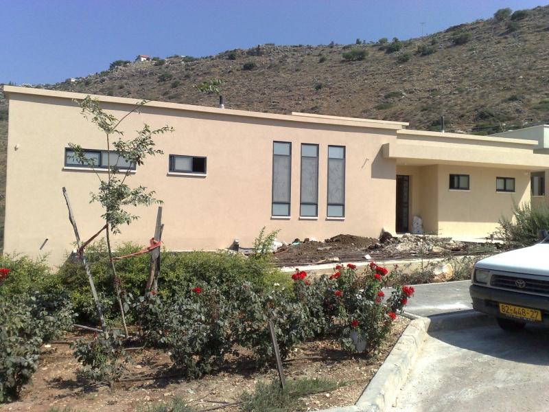 בית חדש הרחבה בשורשים גוש שגב