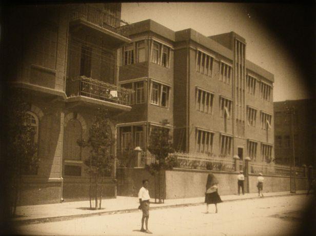 רחוב נחמני בתל אביב לפני השחזור