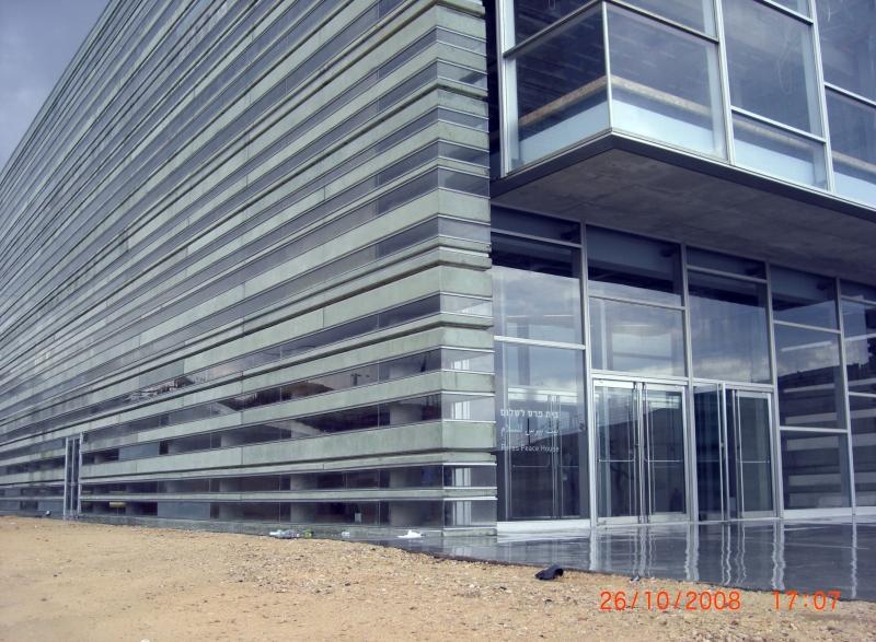 בית פרס לשלום ביפו בתכנון אדריכל יואב מסר