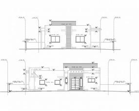בית מגורים - משפחת סיידה בראל - חזיתות