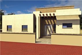 בית מגורים - משפחת סיידה בראל - הדמיה