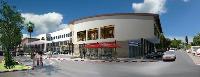 מרכז מסחרי, רמת ישי (בתכנון)