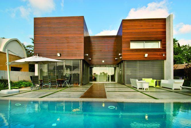 בית פרטי בתכנון אדריכל נסטור סנדבנק