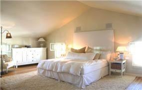 חדר שינה בעיצוב אדריכל נסטור סנדבנק