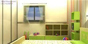 חדר לילד בן 2.5