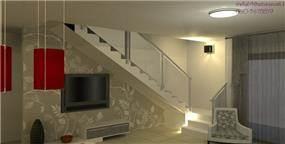 מבט לחלל המדרגות