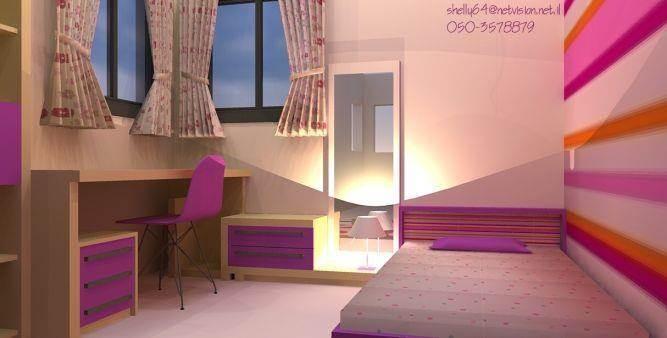 חדר לבת (בת 9)