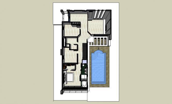 הדמית מחשב מודל בית