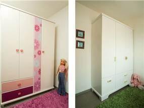 ארונות לחדרי ילדים בעיצוב דלית ונגרובסקי