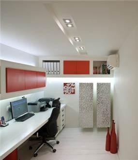 חדר עבודה בעיצוב דלית ונגרובסקי