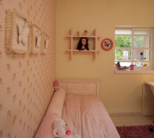 חדר ילדים בעיצוב דלית ונגרובסקי