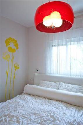 חדר שינה בעיצוב דלית ונגרובסקי