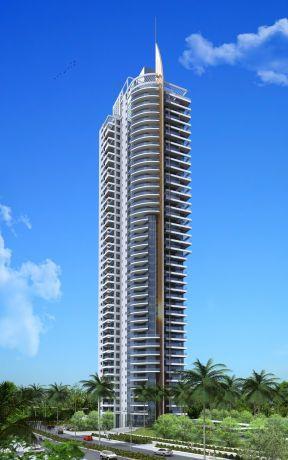 מגדל מגורים בתכנון אדריכל גל מרום