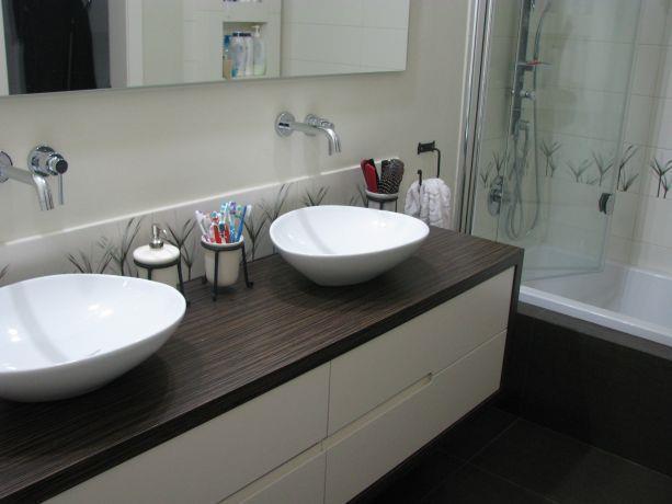 עיצוב חדר אמבטיה מודרני