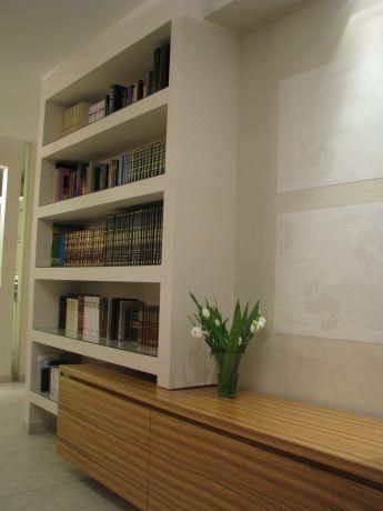 שילוב מזנון וספרייה