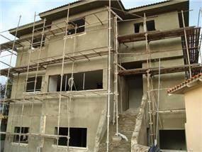 בית פרטי: תל מונד, בתהליך בניה, איתי גידו
