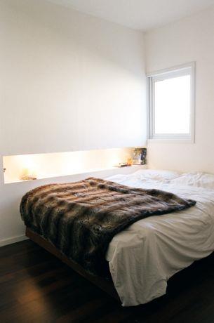 רמת השרון, חדר שינה בסגנון מודרני.