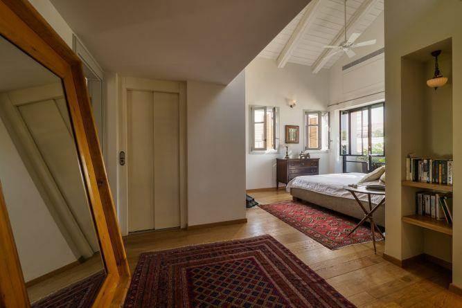 חדר שינה מפנק, וויט אדריכלים