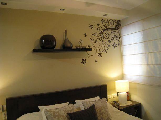 חדר שינה במראה קלאסי רומנטי, מגי אומנות הסטיילינג לבית