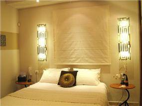 עיצוב והום סטיילינג לחדר שינה בנתניה, מגי אומנות הסטיילינג לבית