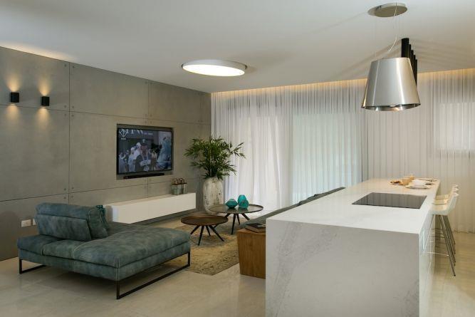 חדר אורחים, אורית כוכבי תכנון ועיצוב פנים