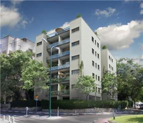 """בניין מגורים במסגרת תמ""""א 38, תל אביב"""